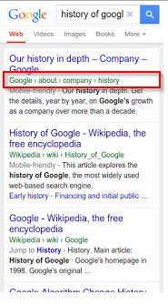 Zoek resultaten presentatie van Google gewijzigd